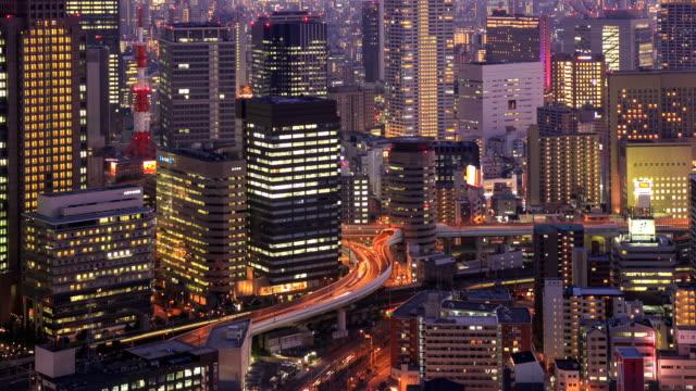 Time Lapse film Osaka, Japon
