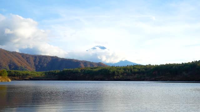 Time lapse: Mt.Fujisan Landscape with cloud,saiko lake.