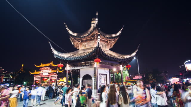 Time Lapse - Nanjing Confucius Temple/China