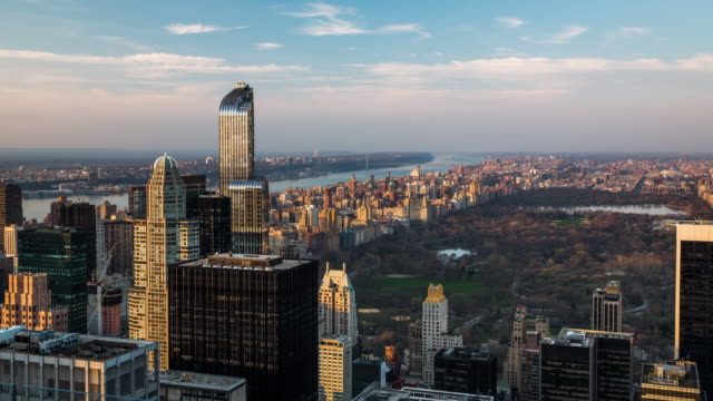time lapse: new york central park - central park manhattan stock videos & royalty-free footage