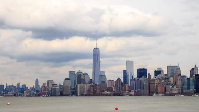 4K Time Lapse : New York Skyline