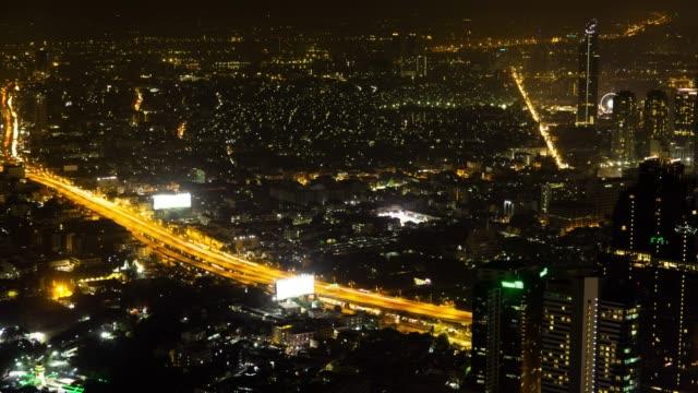 時間経過夜都市景観。 - 宗教上のシンボル点の映像素材/bロール