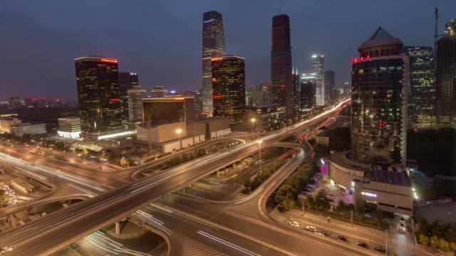 Time Lapse- Night traffic of Beijing (WS HA RL Pan)