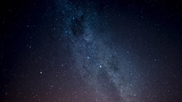 time lapse of a stars and milky way galaxy - milky way stock videos & royalty-free footage