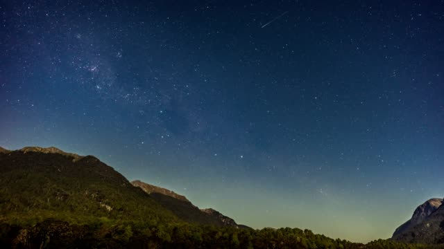 time lapse of a stars and milky way galaxy - satisfaction stock videos & royalty-free footage