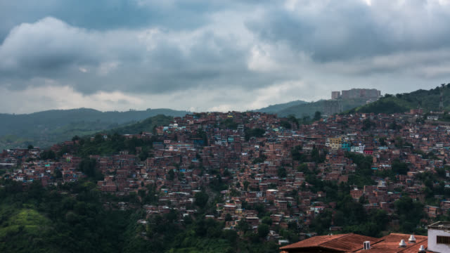 CARACAS - Time Lapse of Altavista Barrio in Caracas