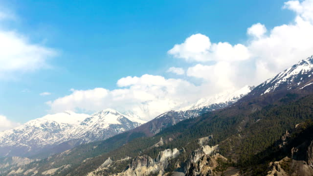 stockvideo's en b-roll-footage met time lapse of annapurna mountains, himalaya, nepal - annapurna range