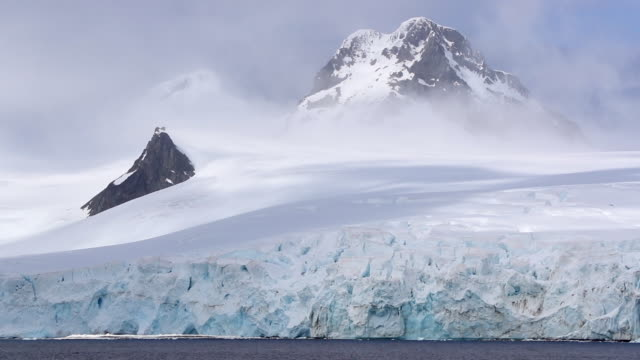 time lapse of antarctic landscape - antarctica stock videos & royalty-free footage