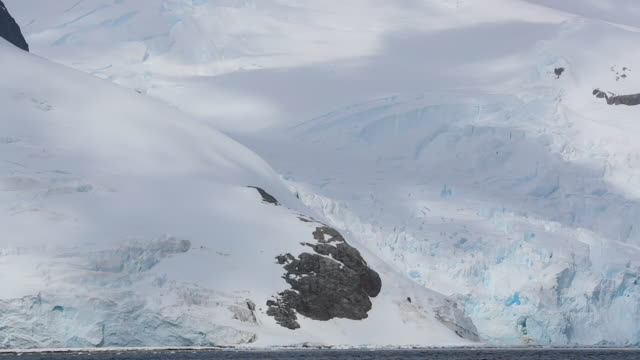Time Lapse of Antarctic Landscape
