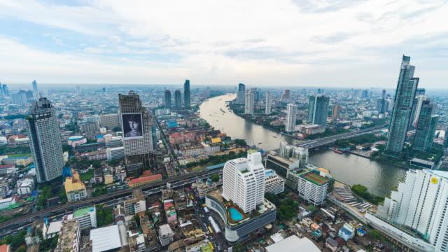 Zeitraffer der Stadt bangkok
