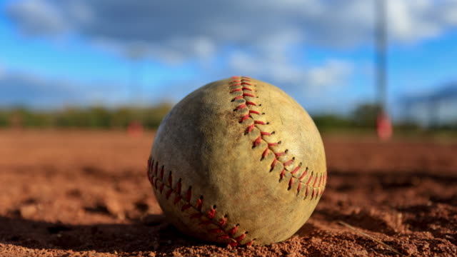 time lapse of baseball on the field - run down stock videos & royalty-free footage
