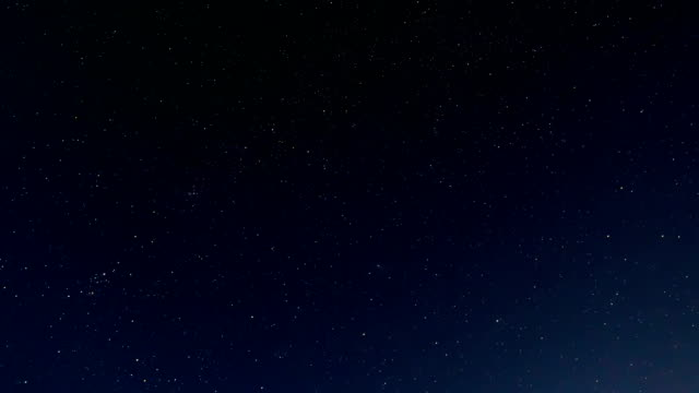 time lapse of beautiful night sky and milky way - star trail stock videos & royalty-free footage