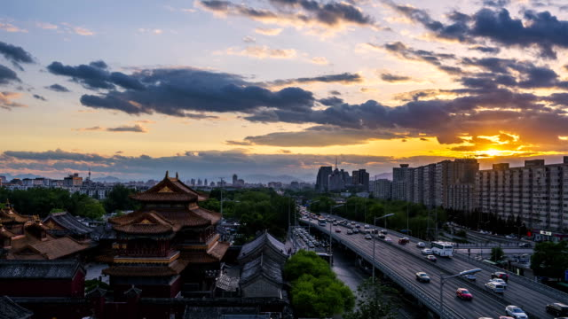 time lapse of beijing, china - tiananmen gate of heavenly peace stock videos & royalty-free footage