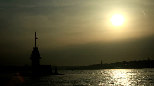 hd: time lapse of bosphorus - golden horn istanbul stock videos and b-roll footage