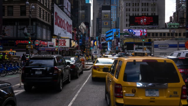 Time Lapse of Car Ride Through Midtown Manhattan