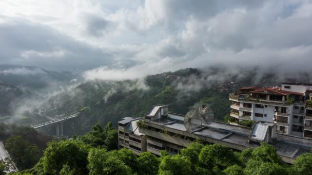 CARACAS - Time Lapse of Cloud rolling and Barrio Altavista in Caracas