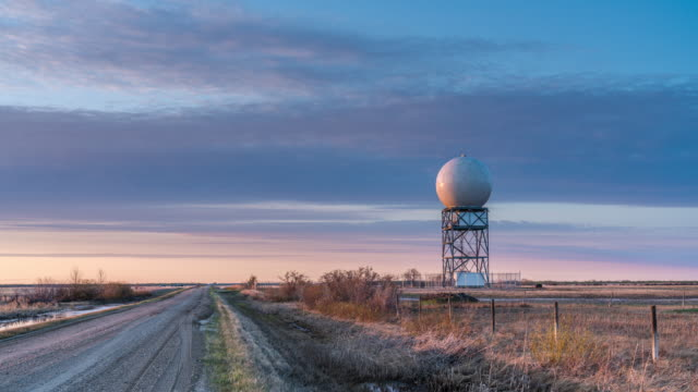 time lapse of doppler radar station - weather stock videos & royalty-free footage