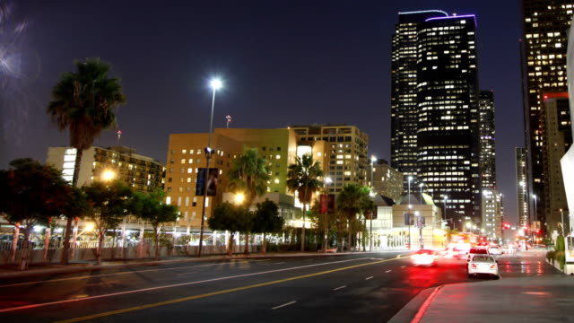 Time Lapse of Downtown Los Angeles
