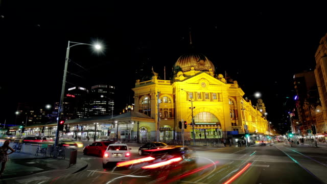 Time Lapse of Flinders Street Station - Melbourne, Australia