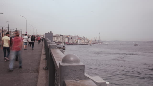 Time Lapse of Galata Bridge