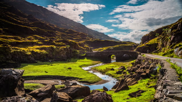 Zeitraffer der Gap of Dunloe in Irland