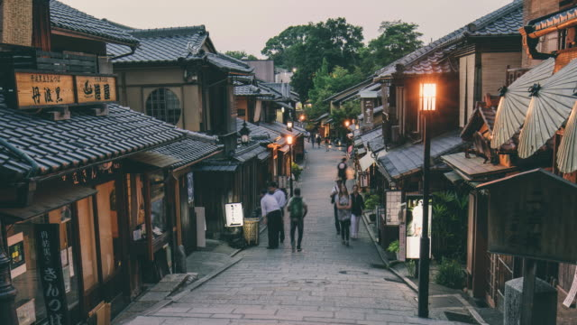 Time lapse of Gion, Kyoto