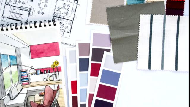 Zeitraffer von home Renovierung & Dekoration Konzept