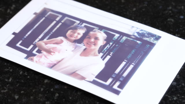 time lapse of instant photo - polaroid stock videos & royalty-free footage