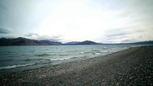 Time lapse of Kluane lake