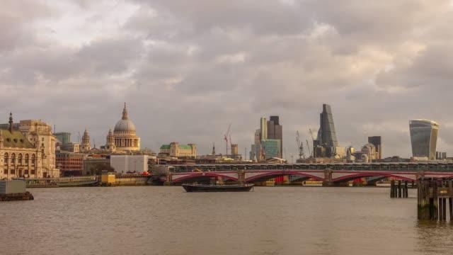 time lapse of london skyline - roman stock videos & royalty-free footage