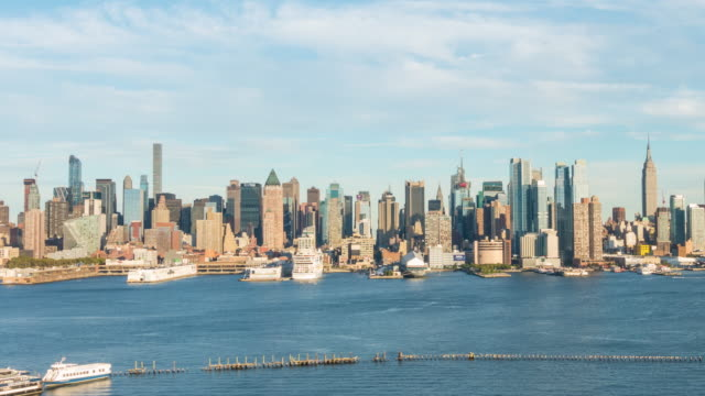 Time lapse of Midtown New York City skyline