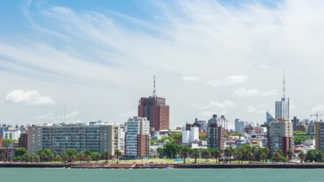 Time lapse of Montevideo's skyline, Uruguay
