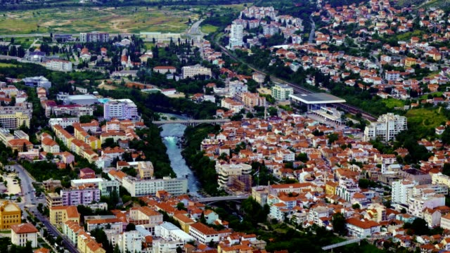Time Lapse of Mostar City and Neretva River - Bosnia and Hercegovina,