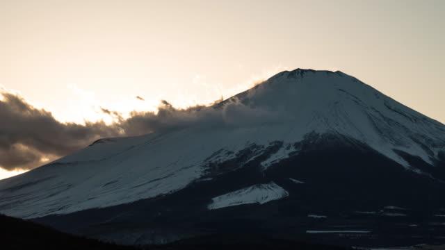Time lapse of Mount Fuji