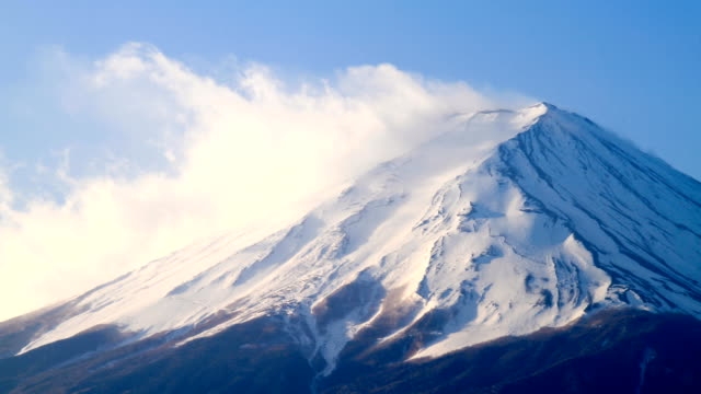 time lapse of mt fuji, japan - mt fuji stock videos & royalty-free footage