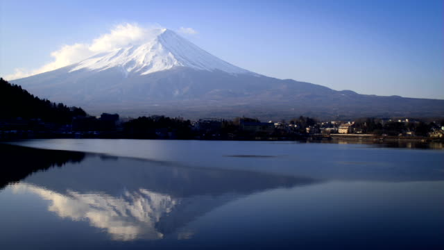 Time lapse of Mt Fuji