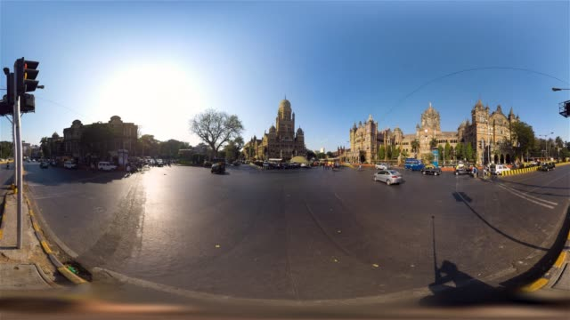 360 Time Lapse Of Mumbai Street