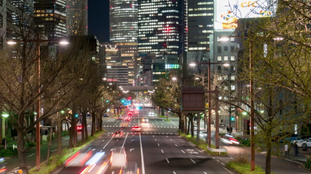 time lapse of nagoya downtown cityscape at nagoya station central of chubu region of japan - tokyo midtown stock videos & royalty-free footage