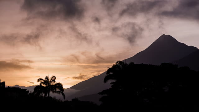 caracas - circa 2013: time lapse of national park el avila during sunset - 2013 stock videos & royalty-free footage