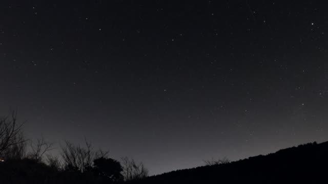 夜空のタイムラプス - 星点の映像素材/bロール