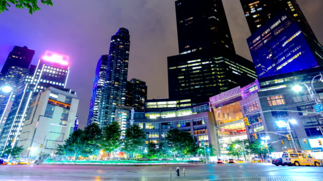 Time lapse of NYC: 59th St and Columbus circle