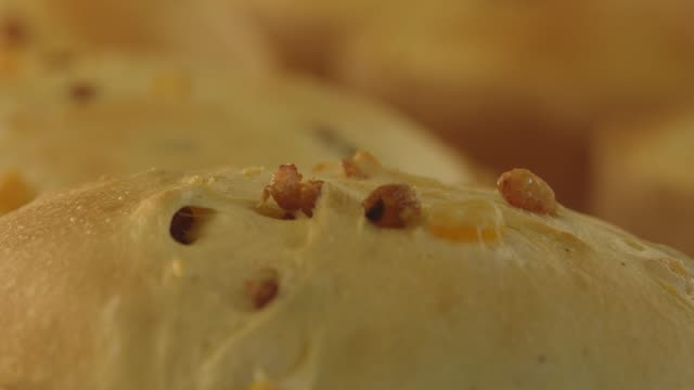 time lapse of panettone loafs baking in oven - bread stock videos & royalty-free footage