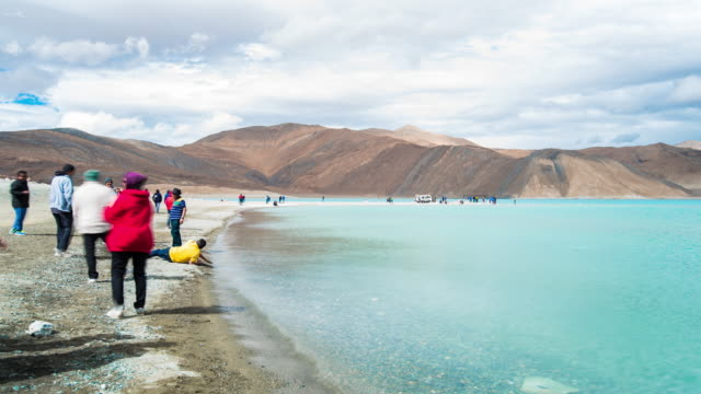Time Lapse Of Pangong Lake In Leh Ladakh, India