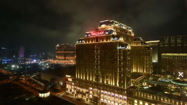 Time Lapse Of Parisian Macao At Dawn