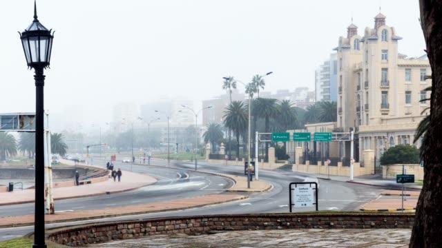 Time lapse of Parque Rodó neighbourhood, Montevideo, Uruguay