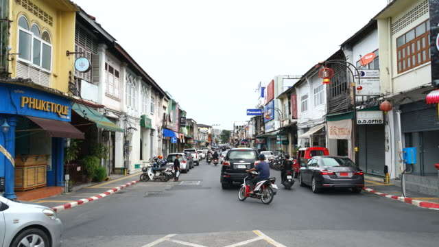 Time lapse of Phuket Old City