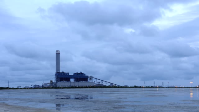time lapse of power plant - swamp stock videos & royalty-free footage