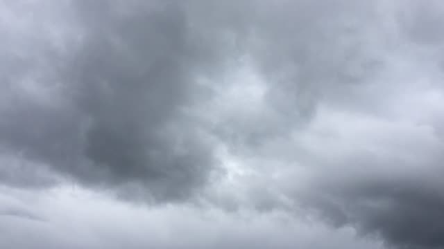 time lapse of rain clouds - stratus stock videos & royalty-free footage