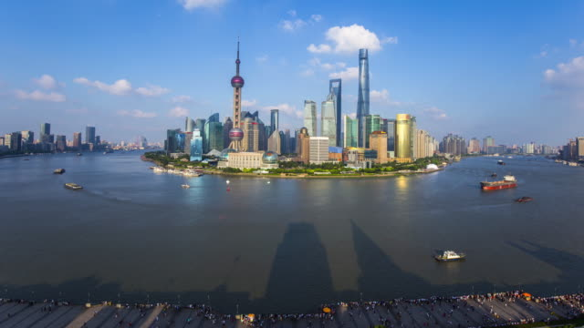 Time lapse of Shanghai,4k