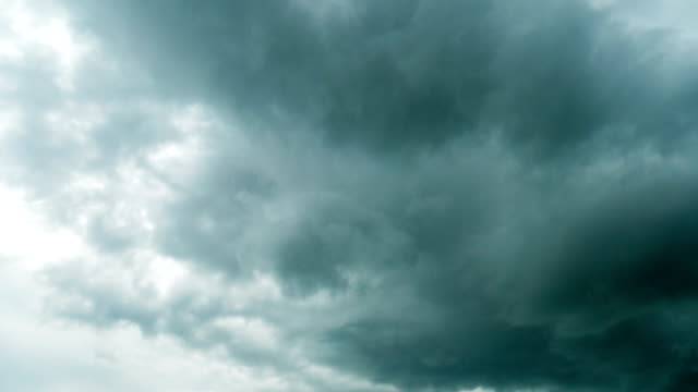 time lapse of storm cloud moving - overcast stock videos & royalty-free footage